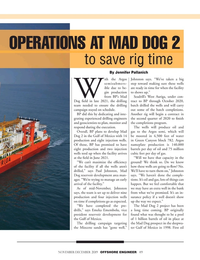 Offshore Engineer Magazine, page 49,  Nov 2019