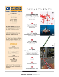 Offshore Engineer Magazine, page 4,  Nov 2019