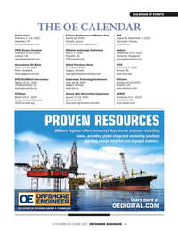 Offshore Engineer Magazine, page 63,  Nov 2019
