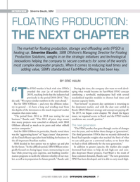 Offshore Engineer Magazine, page 19,  Jan 2020