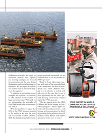Offshore Engineer Magazine, page 23,  Jan 2020