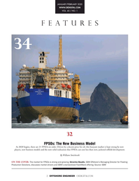 Offshore Engineer Magazine, page 2,  Jan 2020