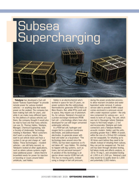 Offshore Engineer Magazine, page 51,  Jan 2020