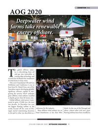 Offshore Engineer Magazine, page 59,  Jan 2020