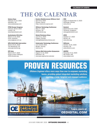 Offshore Engineer Magazine, page 61,  Jan 2020