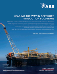 Offshore Engineer Magazine, page 4th Cover,  Jan 2020
