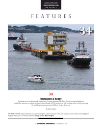 Offshore Engineer Magazine, page 2,  Mar 2020