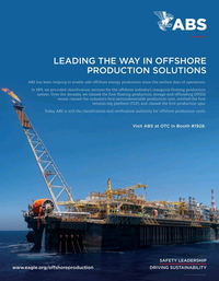 Offshore Engineer Magazine, page 4th Cover,  Mar 2020