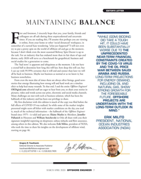 Offshore Engineer Magazine, page 7,  Mar 2020