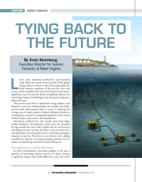 Offshore Engineer Magazine, page 16,  May 2020