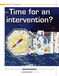 Offshore Engineer Magazine, page 24,  May 2020