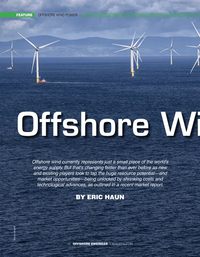 Offshore Engineer Magazine, page 32,  May 2020