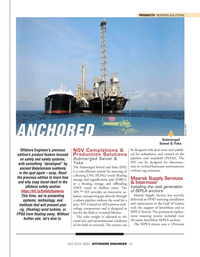 Offshore Engineer Magazine, page 43,  May 2020