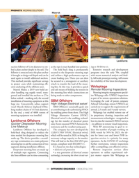 Offshore Engineer Magazine, page 44,  May 2020