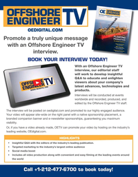Offshore Engineer Magazine, page 17,  Jul 2020
