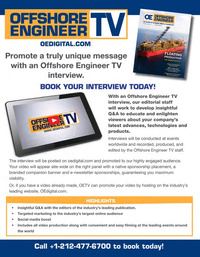 Offshore Engineer Magazine, page 19,  Sep 2020