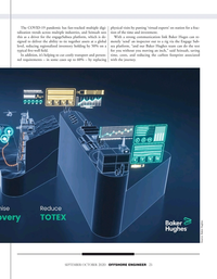 Offshore Engineer Magazine, page 23,  Sep 2020