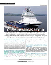 Offshore Engineer Magazine, page 8,  Nov 2020