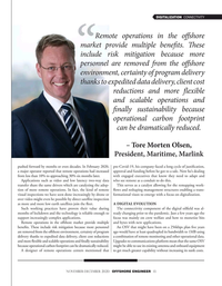 Offshore Engineer Magazine, page 13,  Nov 2020