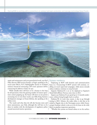 Offshore Engineer Magazine, page 21,  Nov 2020
