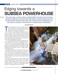 Offshore Engineer Magazine, page 24,  Nov 2020