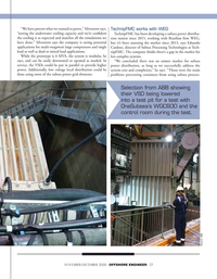 Offshore Engineer Magazine, page 27,  Nov 2020