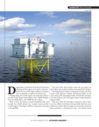 Offshore Engineer Magazine, page 9,  Jan 2021