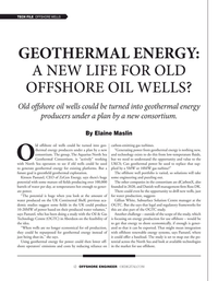 Offshore Engineer Magazine, page 12,  Jan 2021