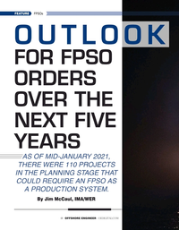 Offshore Engineer Magazine, page 18,  Jan 2021