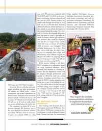 Offshore Engineer Magazine, page 29,  Jan 2021