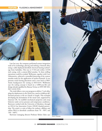 Offshore Engineer Magazine, page 30,  Jan 2021