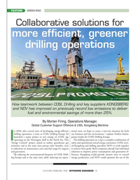 Offshore Engineer Magazine, page 41,  Jan 2021