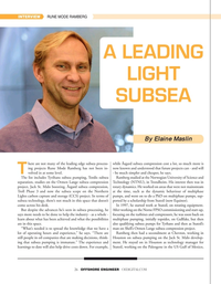Offshore Engineer Magazine, page 26,  Mar 2021