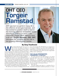 Offshore Engineer Magazine, page 36,  Mar 2021