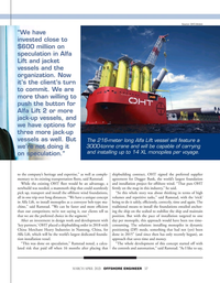 Offshore Engineer Magazine, page 37,  Mar 2021