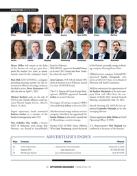 Offshore Engineer Magazine, page 48,  Mar 2021
