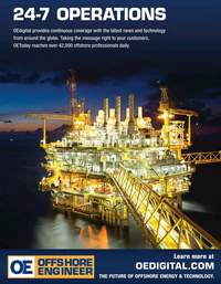 Offshore Engineer Magazine, page 4th Cover,  Mar 2021