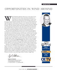 Offshore Engineer Magazine, page 7,  Mar 2021