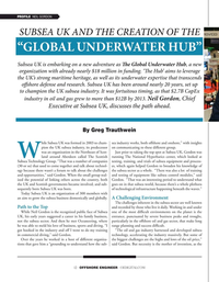 Offshore Engineer Magazine, page 12,  Jul 2021