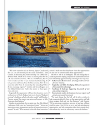 Offshore Engineer Magazine, page 15,  Jul 2021