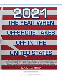 Offshore Engineer Magazine, page 17,  Jul 2021