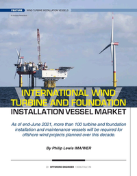 Offshore Engineer Magazine, page 20,  Jul 2021