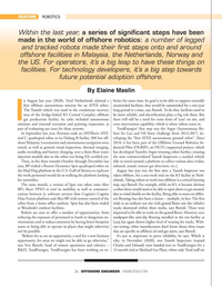 Offshore Engineer Magazine, page 26,  Jul 2021