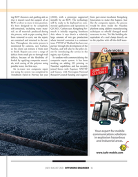 Offshore Engineer Magazine, page 35,  Jul 2021