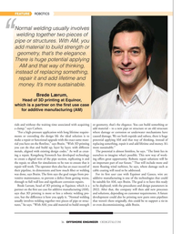 Offshore Engineer Magazine, page 36,  Jul 2021