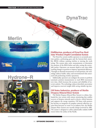 Offshore Engineer Magazine, page 44,  Jul 2021