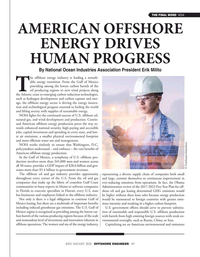 Offshore Engineer Magazine, page 47,  Jul 2021