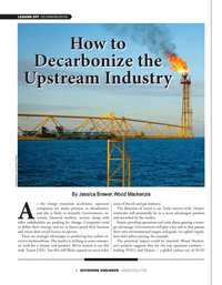 Offshore Engineer Magazine, page 8,  Sep 2021