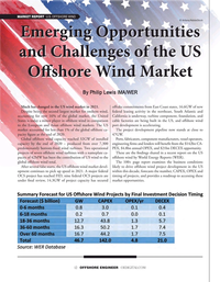 Offshore Engineer Magazine, page 12,  Sep 2021