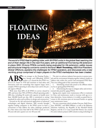 Offshore Engineer Magazine, page 16,  Sep 2021